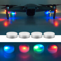 4PCS Night Flight LED Light Lamp Accessories For DJI Mavic Mini Air 2 Pro Drones