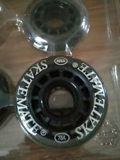 Pu Casted Skatemate wheels 60 x 18 Mm. 78A 60Mm skate 4 wheel pack/card