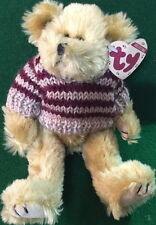 "Ty Attic Treasure ""chelsea"" The Teddy Bear #6070 Tan Tag 8"" MWMT Plush 6th Gen"