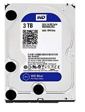 WD Blue 3TB Internal  5400 RPM SATA 6 Gb/s 64MB Cache 3.5 Inch - WD30EZRZ