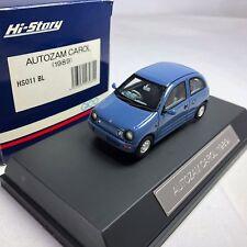 1/43 Hi-story Autozam Carol 1989 Blue #Hs011Bl