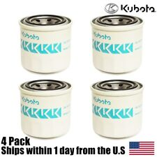 (4) Genuine OEM Kubota Engine Oil Filter 70000-15241 HH150-32094 70000-74034