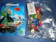 PLAYMOBIL 4654 Pirat mit Kompaß 100 komplett