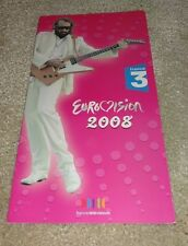 Eurovision Song Contest 2008 France Sebastien Tellier Divine CD Promo press pack