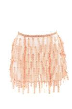 2a4290a69 Agent Provocateur Womens Cute Floral Suspender Skirt Imitation Beige