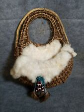 Feather and Fur Dreamcatcher Wall Basket