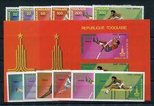 Togo 1422/27 A + B Block 154 A + B postfrisch / Olympiade ................1/3230