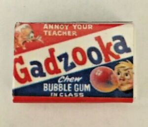 """NEW 2021 WACKY PACKAGES """"MINIS 3D"""" Series 1 SUPER HARD TO FIND GADZOOKA !!!!"""
