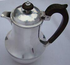 Sterling Silver Hot Water / Coffee / Tea Pot, Sheffield 1932, By Henry Wilkinson