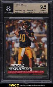 2000 Ultra Football Tom Brady ROOKIE RC #234 BGS 9.5 GEM MINT