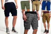 New Mens Superdry Shorts Selection - Various Styles & Colours 3008