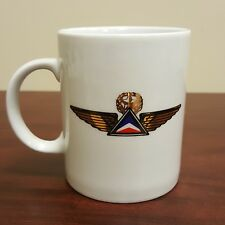 The Captain 1976 Tony Couch Porcelain Coffee Mug Delta Airlines Wing