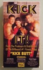 KICK IT ! kick boxing video workout  VHS VIDEOTAPE  kickboxing