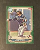 2020 Topps Gypsy Queen Bo Bichette RC Rookie Green Parallel SP Toronto Blue Jays