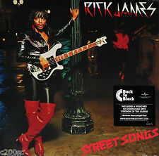 RICK JAMES - STREET SONGS, 2016 EU 180G vinyl LP + DOWNLOAD, NEW! FREE SHIPPING!