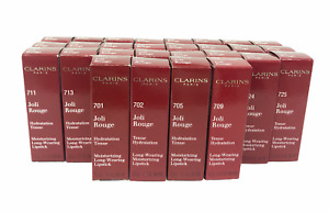 Clarins Paris Joli Rouge Moisturizing Long-Wear Lipstick (3.5g/0.12Oz) YOU PICK!