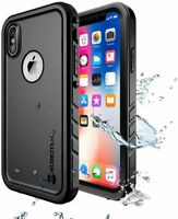 Apple iPhone X / Xs Case Protective Cover Waterproof Built-in Screen Protector