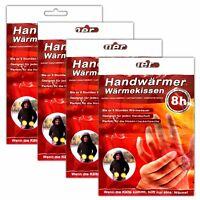 4 Paar Einmal-Handschuhwärmer | Taschenwärmer | Handwärmer 8h | Taschenofen