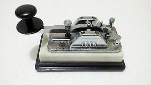 "Maritime Marine Vintage Ship Morse Key "" Hi - Mound "" Model Hk-702 Telegraph Key"
