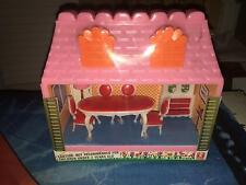 Vintage 60s/70s Bandai Miniature Dining Room Set w/Box **RARE** Dream House SEAL