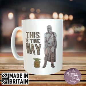 Personalised Star Wars Mandalorian Baby Yoda The Child This Is The Way Mug V2