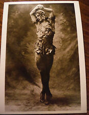 Postcard / Nijinsky in Le Spectre de la Rose / E. O. Hoppe / 1911