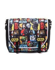 STAR WARS RETRO CHARACTERS COMIC STYLE MESSENGER BAG - BACK TO SCHOOL