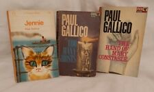 Paul Gallico Book Bundle Jennie, Too Many Ghosts, The Hand Of Mary Constable