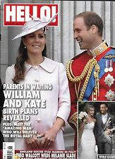 Hello magazine Kate Middleton Prince William Theo Walcott wedding The Queen