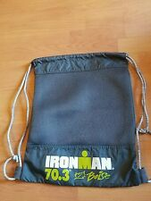 Ironman 70.3 Triathlon Bag Black Backpack Cinch