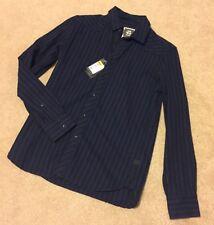 G STAR RAW chemise gstar shirt bleu saphir Gstar Raw Petit £ 80 Gstar Raw Bnwt