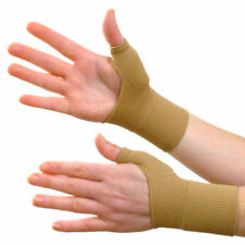 Therapy Gloves Gel Filled Thumb Hand Wrist Support Arthritis Compression Raynaud