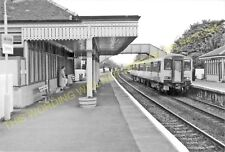 Dalmeny Railway Station Photo. North Queensferry to Kirkliston & Turnhouse. (6)