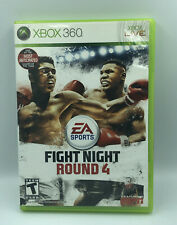 Fight Night Round 4 (Microsoft Xbox 360, 2009) No manual very nice disc tested