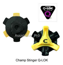 14 CHAMP STINGER Q LOK GOLF SPIKES BULK PACKED