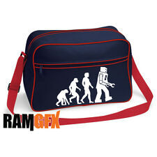 BNWT EVOLUTION BIG BANG THEORY FLIGHT MESSENGER SHOULDER BAG SCHOOL COLLEGE