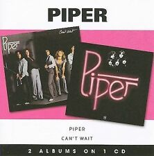 Piper SELF-TITLED+CAN'T WAIT cd 1976/77/08 NEW**OFFICAL**(Billy Squier)s/t.debut