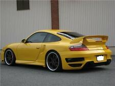 PORSCHE 996 GTX REAR BUMPER, SKIRT COVERS 996 TURBO N C4S COUPE N CAB 01 TO 05
