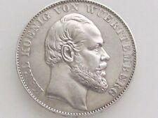 KARL KOENIG VON WUERTTEMBERG GERMAN STATES COMMEMORATIVE .900 SILVER COIN