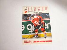 2012/13 Classics Signatures #54 VALERI BURE Calgary Flames 12/13 Base-No Auto