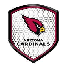 Arizona Cardinals Reflector Auto Decal [NEW] NFL Car Emblem Shield Sticker CDG