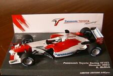 TOYOTA RACING TF102 PANASONIC #25 SHOWCAR 2002 MCNISH MINICHAMPS 403 020075 1/43