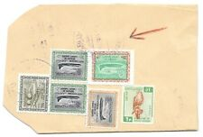 SAUDI ARABIA 1964 200pi Sc 341 TIED WITH AIR MAILS ON PIECE