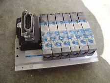 SMC VF3233K-5Y0D1-02F 24V Festo Ventilinsel Pneumatikventil Magnetventil PW