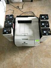 HP LaserJet Pro 400 M451dw Color Laser Printer With 6 New Ink Cartridges Bundle