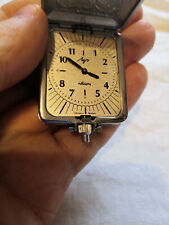 "quartz pocket watch for the blind ""Luch"", Belarus excellent condition"