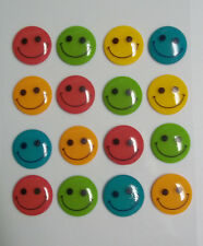 Smiley Faces 16 Pcs Dimensional Stickers Jolee's Boutique Free Shipping NIP