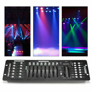 DMX512 Console Stage Lighting Controller 192CH DJ Show Disco Party Club Operator