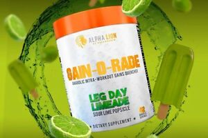 Alpha Lion GAIN-O-RADE Intra Workout Gains Quencher 42 Servings