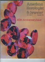 MF-071 - American Horologist & Jeweler Magazine Sept 1976 Ruby, Missing Markings